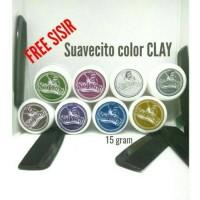 Suavecito Color Pomade Clay edisi sample 15 gram