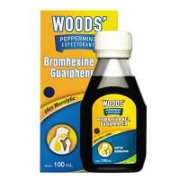 Woods Pepermint Ekspektoran 100 ml - Obat Batuk Berdahak