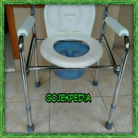 Commode Chair Kuri BAB Kursi Buang Air Besar ( Tanpa Roda )