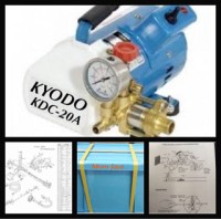 Jet Cleaner Kyodo KDC-20A Mesin Steam Cuci Ac Bergarans Diskon
