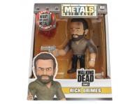"""Jada Figure Metals 4"""" Walking Dead AMC Rick Grimes (M180)"""