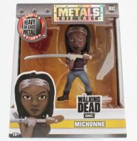 "Jada Figure Metals 4"" Walking Dead AMC Michonne (M183)"
