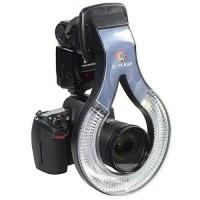 O-Flash Macro Ring Light Nikon SB800 SB600 Canon 580EX - F160 - Black
