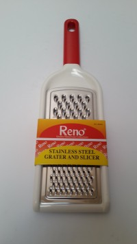 RENO PARUTAN KEJU STAINLESS GRATER SLICER UK 18CM MEDIUM NO.180203