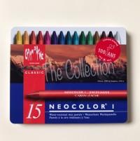 ATK294CR 15 warna Neo I Carandache Caran d'ache Karandas Crayon refill