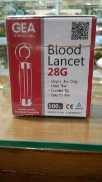 Blood Lancet/ Jarum Bekam, Periksa Darah-Gea Eceran