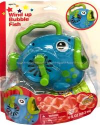 Wind Up Bubble Fish Mainan Gelembung Bentuk Ikan Gelembung Sabun