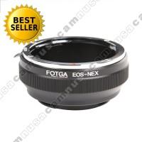 Adapter Lensa Canon Ef To, Ke, Untuk Kamera Sony Nex (Fotga)