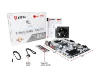 MSI B350 TOMAHAWK ARCTIC AM4 AMD B350