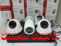 PROMO PAKET CCTV HIKVISION DVR 8CH + 4 CAMERA 2MP ( KOMPLIT SET )