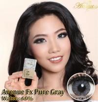 Softlens Avenue FX Pure Gray (Abu Gelap)