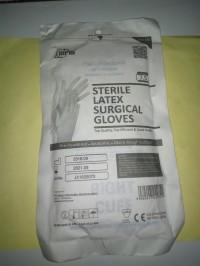 SARUNG TANGAN STERIL UK. 7.5 / HANDSCOON STERIL NO. 7.5 / STERIL LATEX
