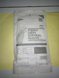 SARUNG TANGAN STERIL UK. 7 / HANDSCOON STERIL NO. 7 / STERIL LATEX
