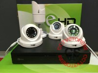 paket cctv 4 kamera ahd 1.3mp murah + hardisk paket cctv 4 channel