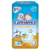 CONFIDENCE ADULT DIAPERS XL 6