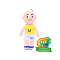 Boneka Kartun Serial Anak Upin Ipin - Upin Kuning IKO00756