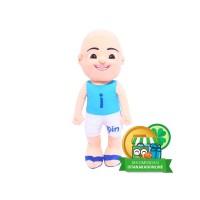 Boneka Kartun Serial Anak Upin Ipin - Ipin Biru IKO00757