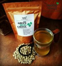 Green Bean Coffee Java Robusta / Biji Kopi Hijau Pelangsing Diet Tubuh