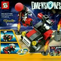 Lego Black Widow Super Heroes Dimensiones SY749C
