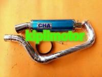 Knalpot Racing cha untuk motor Honda beat fi