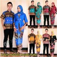 Batik Couple Kebaya / Sarimbit Balloteli Anggita Anjani Prada Zigzag