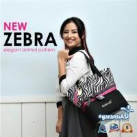 Gabag new zebra (tas saja) non gel oobaby