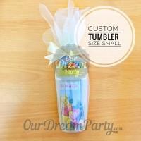 Custom Tumbler size Kecil - Cars,Frozen,Little pony, Tsum2,etc