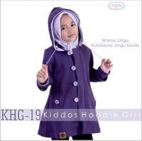 Jaket Anak Perempuan Hoodie Ungu Korea Sweater Cewek 19
