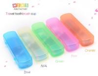 KP023 Kotak Tempat Sikat Gigi Odol Travel Portable Toothbrush Set Box