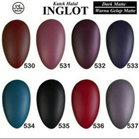 Inglot Nail Enamel ( Kutek HALAL )