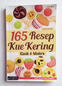 165 Resep Kue Kering Klasik & Modern