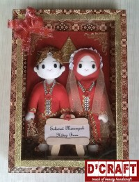 Boneka Pengantin Flanel Box (2)