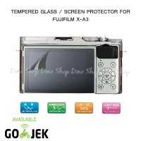 Fujifilm X-A3 / XA3 LCD Tempered Glass Screen Protector Anti Gores