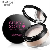 Face Loose Powder With Compact Mirror Case By BIOAQUA