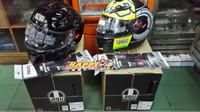 Helm AGV K3SV black glossy atau Helm AGV K3SV wintertest size M L XL