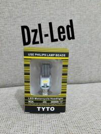 HEADLAMP LED PHILIPS LAMPU UTAMA H6 AC & DC LAMPU DEPAN Motor BEBEK