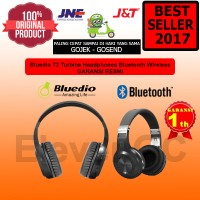 Bluedio T2 + Plus Turbine Headphones Bluetooth Wireless Original 100%