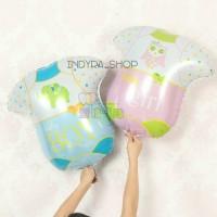 Balon Foil Baju Baby Bayi Boy Girl Perempuan Laki Baby Shower Murah