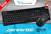 [ALCATROZ] XplorerAir 1000 Keyboard + Mouse Wireless . Garansi Resmi