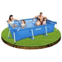 Kolam Renang Keluarga Small Metal Frame Swimming Pool - INTEX 28272