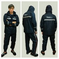 Jas Hujan | Raincoat Rosida R882 Sporty Edition Original