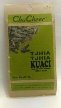 Tjhia Tjhia Kuaci Biji Bunga Matahari Makanan Kwaci Rasa Asin ChaCheer