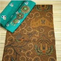 Batik Cap Sogan Dan Kain Jumputan kebaya kutubaru dress kemeja batik