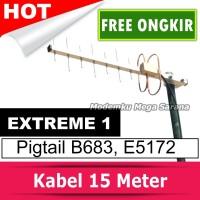Antena Yagi Extreme 1 Pigtail Router Huawei B683 E5172 Diskon.murah