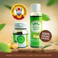 Penumbuh Rambut Organic Obat Rontok & Ketombe | Cantiqa Kemiri