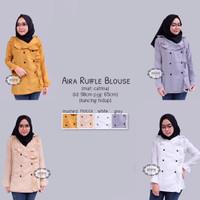 Atasan / Baju Cewek / Tunik / Blouse Cewek / Aira Ruffle blouse