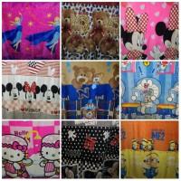 Selimut Bulu Super Soft Cars Mickey Princess Avenger