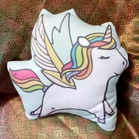Bantal Boneka Plushie - Large Unicorn (max 35x45 cm)