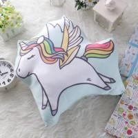 Bantal Boneka Plushie - XL Unicorn (max 50x70 cm)