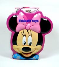 Celengan Gembok Karakter Minnie Mouse